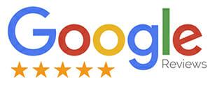 Google 5-star customer reviews